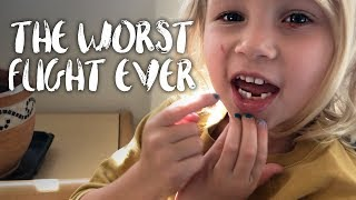 OUR WORST FLIGHT EVER??! thumbnail