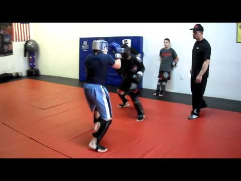 Teen Sparring