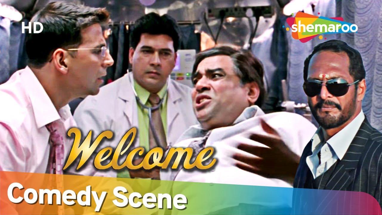Best Comedy Scenes of Movie Welcome | Akshay Kumar - Paresh Rawal - Sanjay Mishra - Nana Patekar