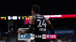 Justin Patton (22 points) Highlights vs. Agua Caliente Clippers