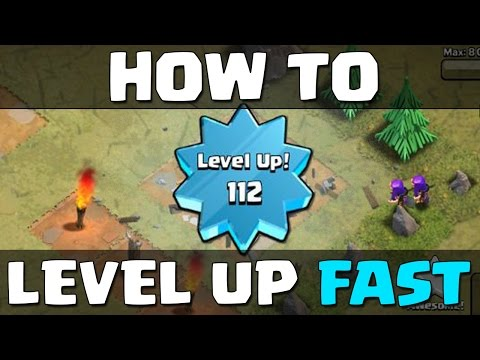 How to Level Up Fast in Clash of Clans!