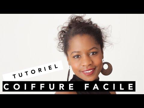 tutoriel quick easy hairstyle coiffure facile et. Black Bedroom Furniture Sets. Home Design Ideas