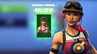Bullseye Skin Combos and Review! Fortnite
