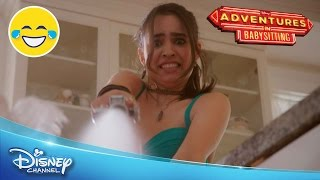 Adventures in Babysitting | Lola's Babysitting Fail | Official Disney Channel UK