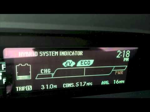 How to reset a Toyota Prius tire pressure warning light ...