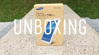 Samsung Galaxy Tab 3 Lite: Unboxing/Hands on!
