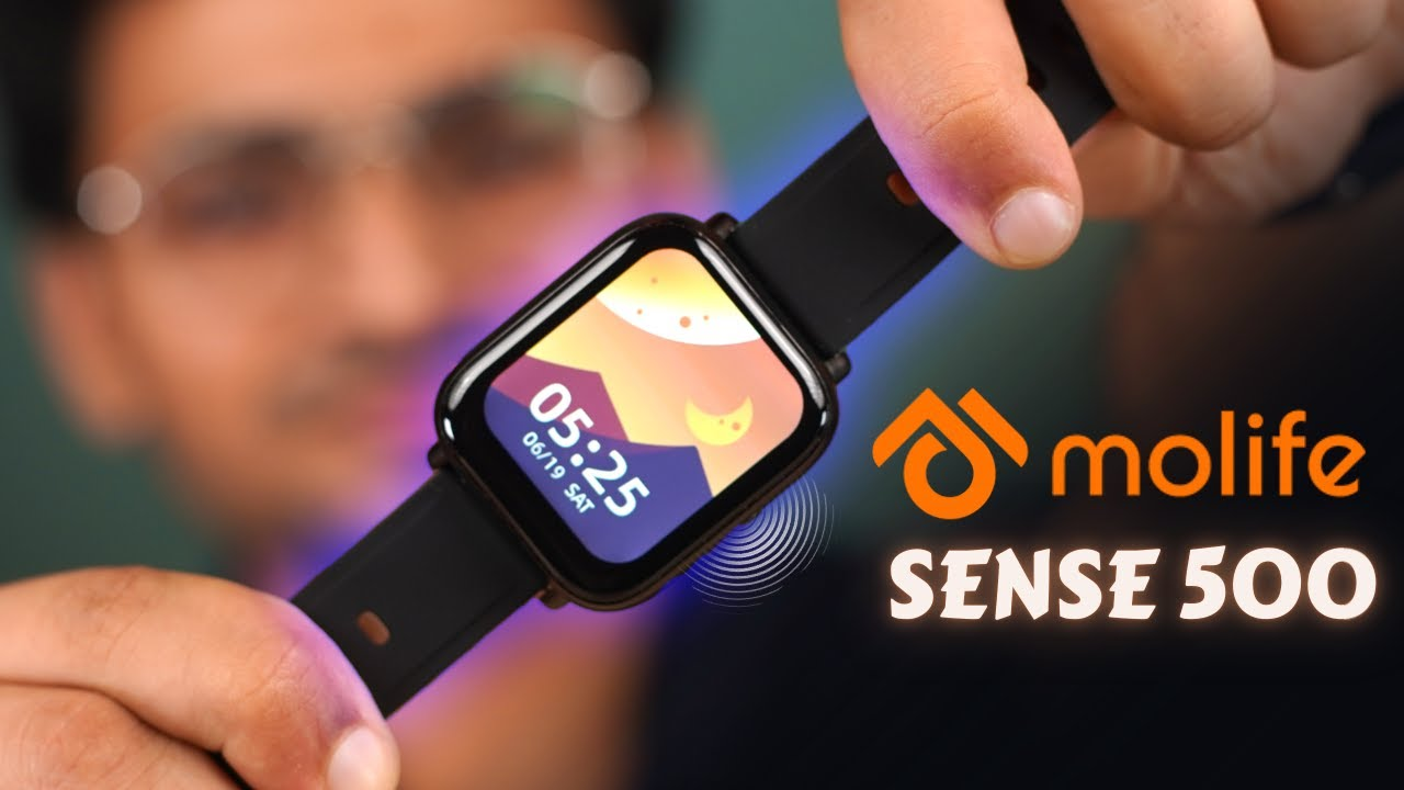 "Budget Bluetooth Calling SmartWatch 🔥  Molife Sense 500 Unboxing   1.7"" Infinity Display 🚀"