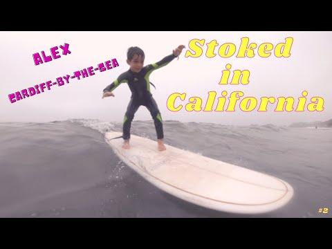 Grom Stoked In California