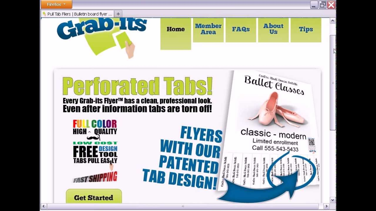 create pull tab flyers tear tab flyers easily with grab its youtube