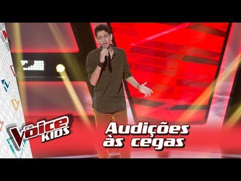 Arthur Rodrigues canta 'Apenas Mais Uma de Amor' na Audição – 'The Voice Kids Brasil'   3ª Temporada