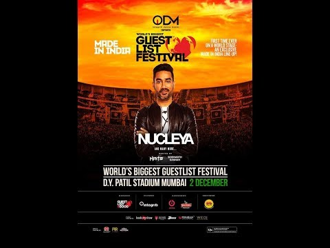 NUCLEYA AND DIVINE FULL SET | WORLD'S BIGGEST GUESTLIST FESTIVAL 2017 | MUMBAI