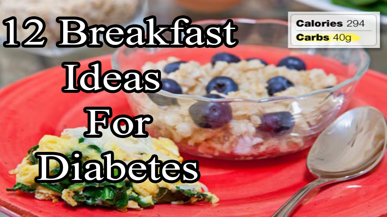 Best breakfast options for diabetics