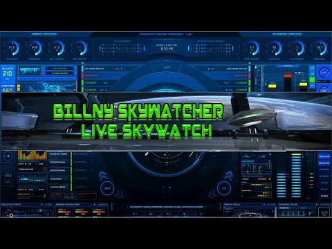 Live Sky Watch August 22nd 2015 using Night Vision