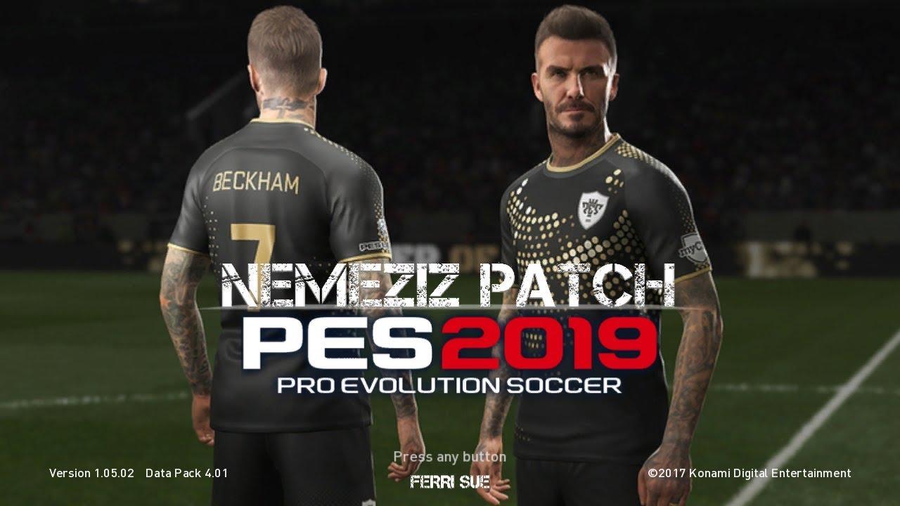 PES 2018 PS3 Nemeziz Patch 1 6 AIO CFW and OFW