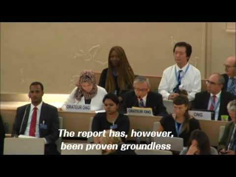 [Comfort Women issue] Prof. Fujioka addressed at 33rd UN Human Rights Council Meeting