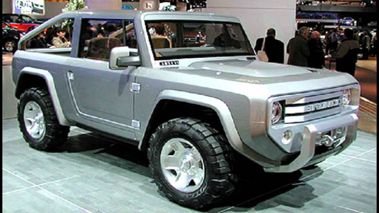 2015 Ford Bronco Exterior and Interior - YouTube