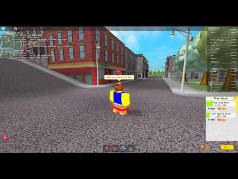 Roblox | Super Power Training Simulator How to get Jump force very easy