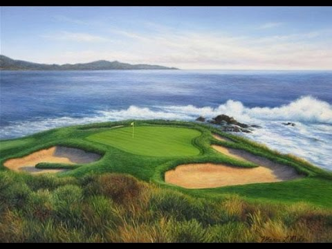 17-Mile Drive Pebble Beach Golf Resorts Walkthrough in Monterey Peninsula, California