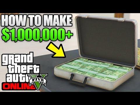 GTA 5 Online - FASTEST & EASIEST Way To Make $1,000,000+ in GTA 5 Online! (GTA 5 Best Money Methods)