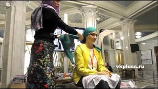 Как красиво завязать широкий палантин на голову  Мастер класс «Искусство носить платок»(Как одевать широкий шарф, широкий палантин на голову, как красиво одеть широкий шарф., 2016-04-17T04:22:00.000Z)