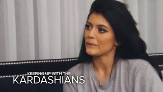 KUWTK | Kylie Jenner Admits to Doing What to Her Lips?! | E!
