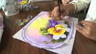 Ana Laura Rodrigues – Pintura em tecido Parte 2/2