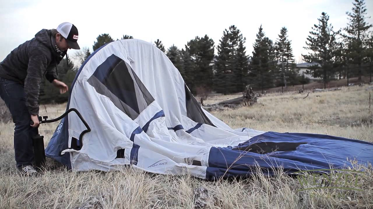 & Wenzel: Airpitch Vortex tent - YouTube