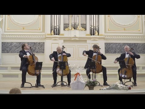 Rastrelli Cello Quartet - J.Brahms - Hungarian Dances - LIVE 2018