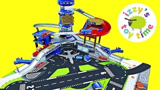 Cars for Kids | Hot Wheels Toys and Fast Lane Airport Playset - Fun Toy Cars for Kids