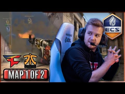 Niko VAC Spray Through The Smoke! GuardiaN ACE! FaZe Highlights VS Fnatic/Map 1 Of 2