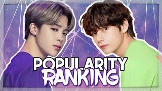 Download lagu BTS || POPULARITY RANKING 2019