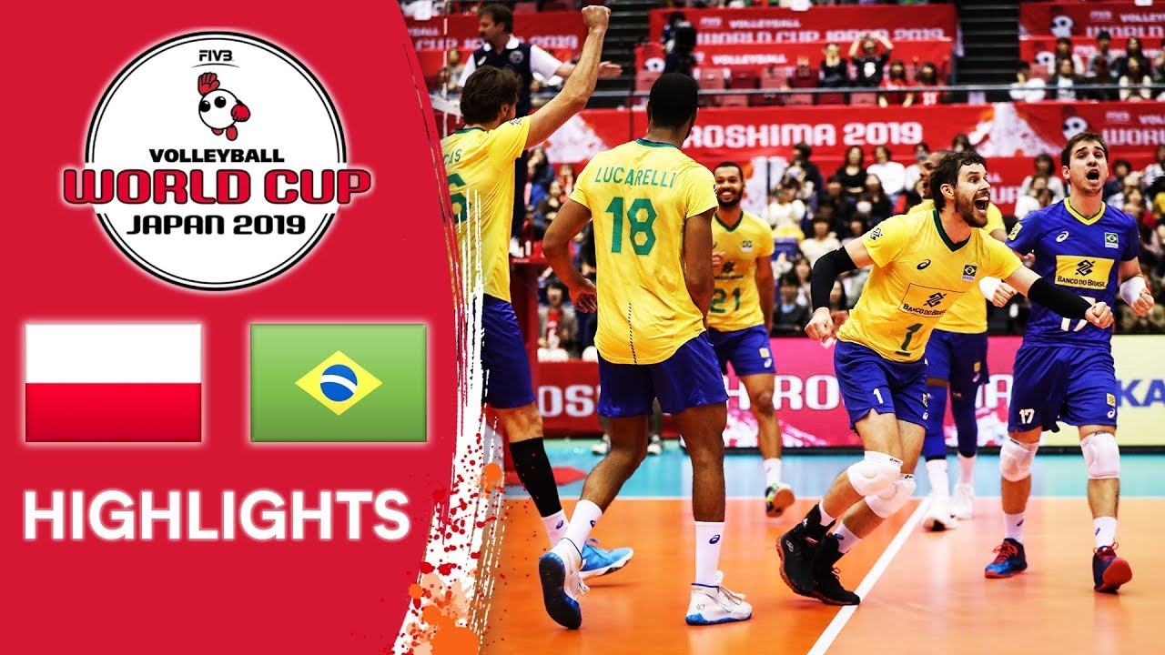 Download POLAND vs. BRAZIL - Highlights | Men's Volleyball World Cup 2019
