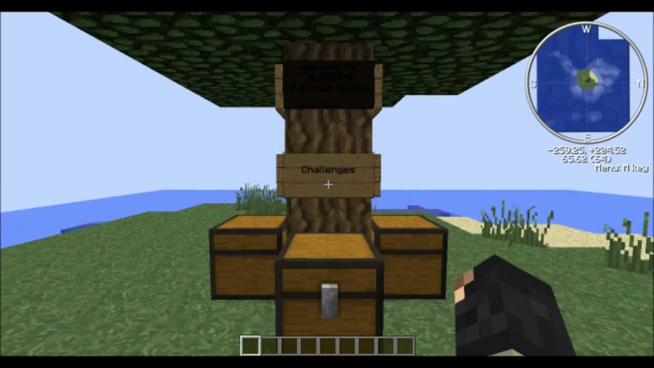 Minecraft] Survival Island Map! [MC 1.8] - YouTube