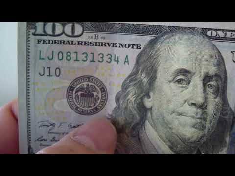 How To Detect New Counterfeit $100 Bill
