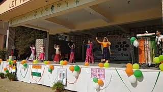 Republic Day Celebration Dance  - Holy Cross School