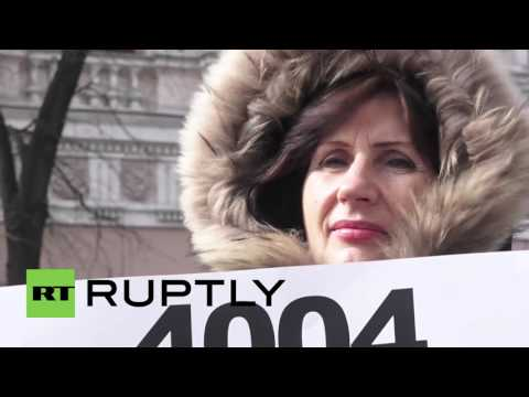 Ukraine: 'Financial Maidan' activists protest bank credit law in Kiev