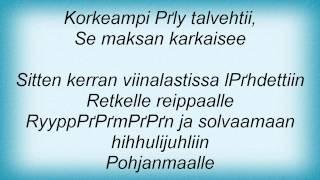 Eppu Normaali - Jumalan Poika Lyrics