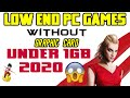 low end pc games without graphic card  || under 1gb ram ||