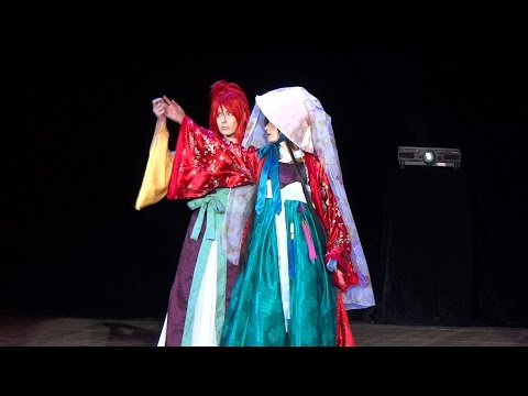 AnimaniA 2014 Nabi, Yi Won - Twelve Nights Cosplay Defile