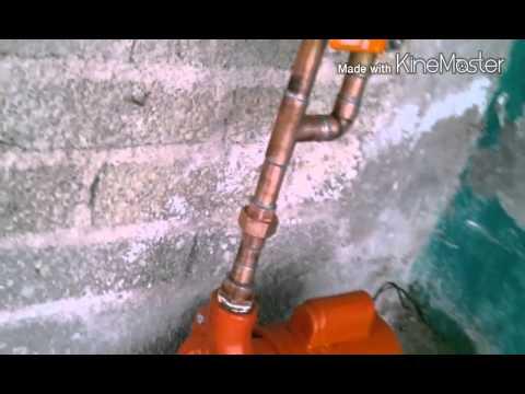 Como se deve de instalar una bomba de agua en una youtube - Como se construye una chimenea ...