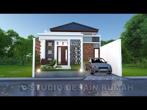 Gambar Desain Rumah Minimalis 7 X 15  desain rumah di lahan 7 x 15 m jasa desain rumah youtube