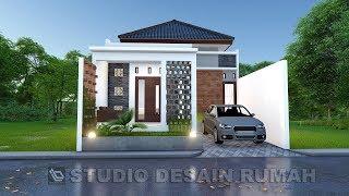 Desain rumah di lahan 7 x 15 m  [Jasa Desain rumah]
