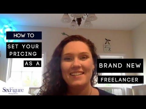 How to Set Your Pricing as a Brand New Freelancer