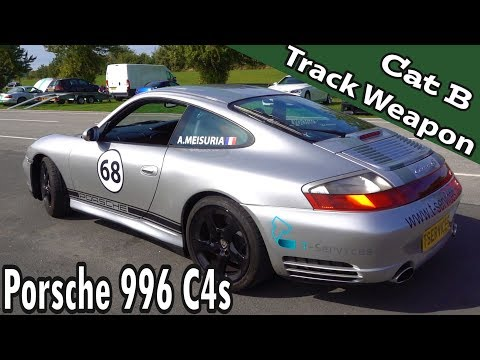 Porsche 996 C4s Cat B Write Off Conversion to Track Day Weapon + Westfield Hayabusa