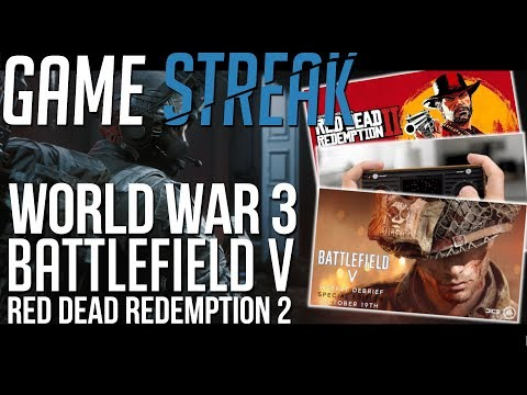PREMIERA WORLD WAR 3, DŹWIĘKI W BATTLEFIELD V, ATARI RETRO, RED DEAD REDEMPTION 2 – GAME STREAK #2 thumbnail