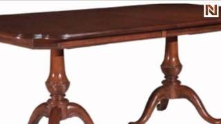 Kincaid 60-057p Carriage House Double Pedestal Dining Table (pkg)