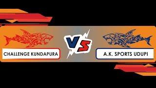 Real Fighters Trophy | Match 02 | AK Sports Vs Challenge Kundapura