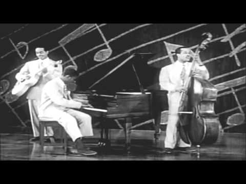 """Nat King Cole Trio -  """"Breezy And The Bass""""/""""Ooh, Kickeroonie""""/""""Now He Tells Me""""  (1946)"""