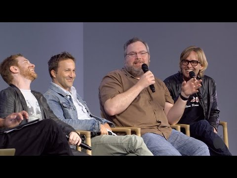 Robot Chicken Cast  with Seth Green, Breckin Meyer, Tom Root and Tom Sheppard