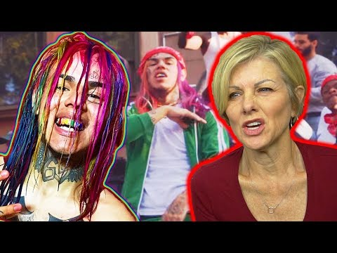 Mom REACTS to 6IX9INE - GUMMO (SHE FREAKS OUT)